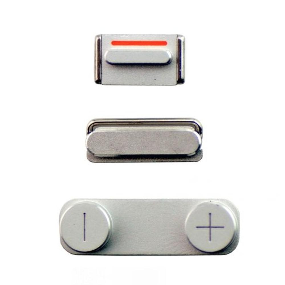 Apple iPhone SE Boční Tlačítka Silver