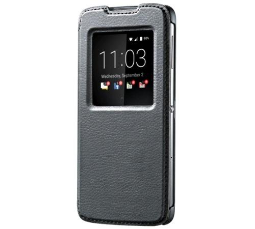 BlackBerry Original flipové pouzdro ACC-63008-001 BlackBerry DTEK50 černé