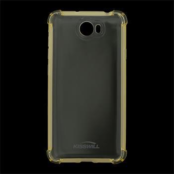 Kisswill Shock silikonové pouzdro pro Huawei Y3 II zlaté