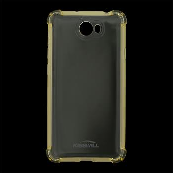 Kisswill Shock silikonové pouzdro pro Honor 5X zlaté