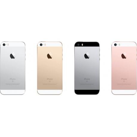 Apple iPhone SE Zadní Kryt Silver