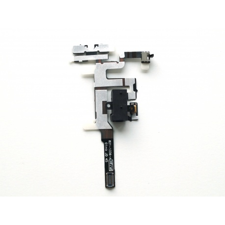Apple iPhone 4S Audio Jack + Volume button flex connector Black