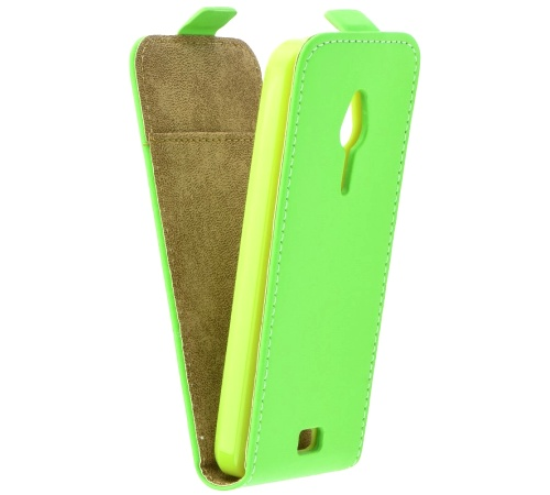 ForCell Slim Fresh pouzdro flip Nokia 230 limetkové