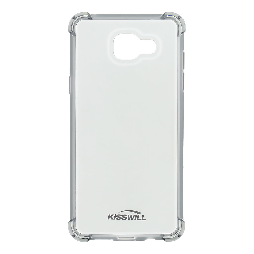 Kisswill Shock silikonové pouzdro pro Samsung A510 Galaxy A5 2016 šedé