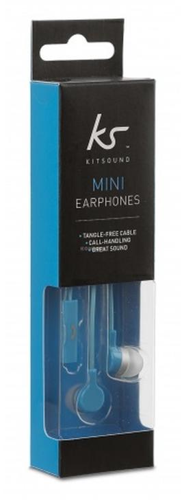 Handsfree sluchátka KitSound Mini Blue