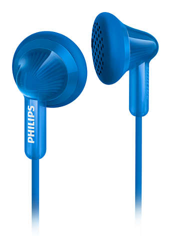Sluchátka Philips SHE3010BL Blue