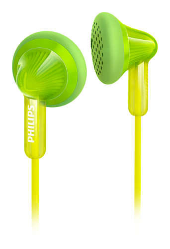 Sluchátka Philips SHE3010GN Green