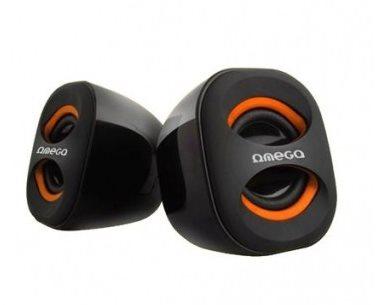 USB reproduktory Omega OG-115O 3W Orange