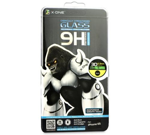 Tvrzené sklo na Samsung Galaxy Note 7 (SM-N930F) 3D ohyb 0,3 mm X-ONE 9H, černá