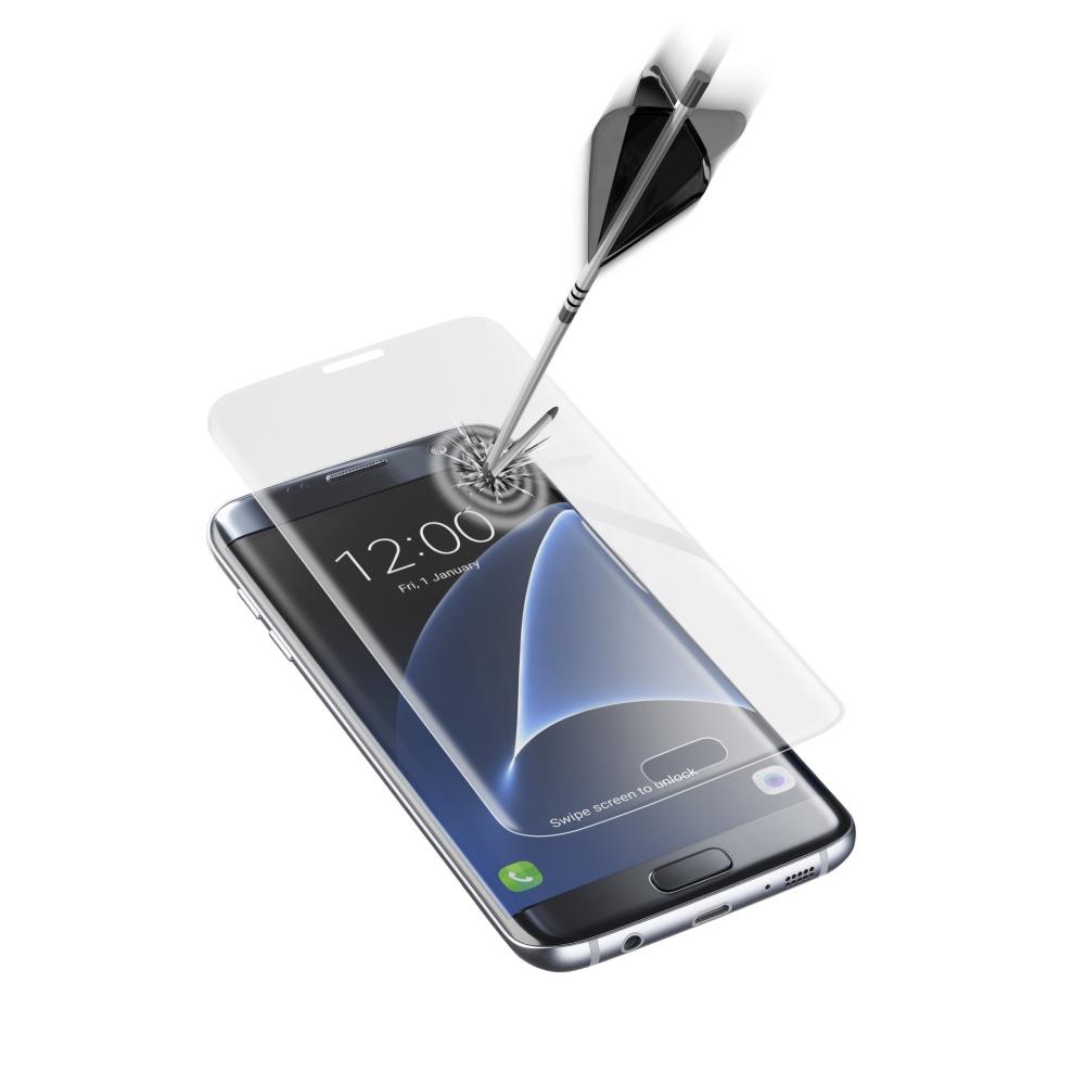 Ochranné tvrzené sklo CellularLine GLASS pro Samsung Galaxy S7 EDGE, čiré