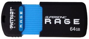 Flash disk Patriot SuperSonic Rage 64GB USB 3.0