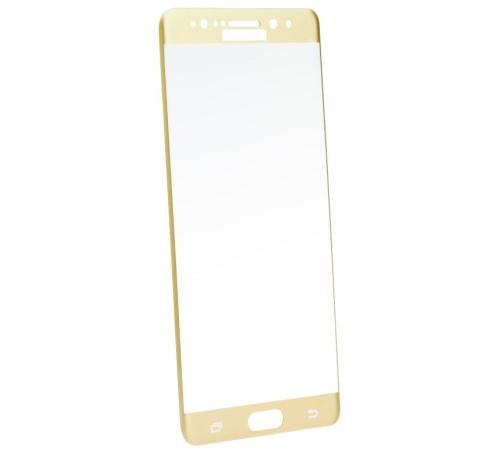 Tvrzené sklo Blue Star pro Samsung Galaxy Note 7 (SM-N930F) celé pokrytí, zlatá