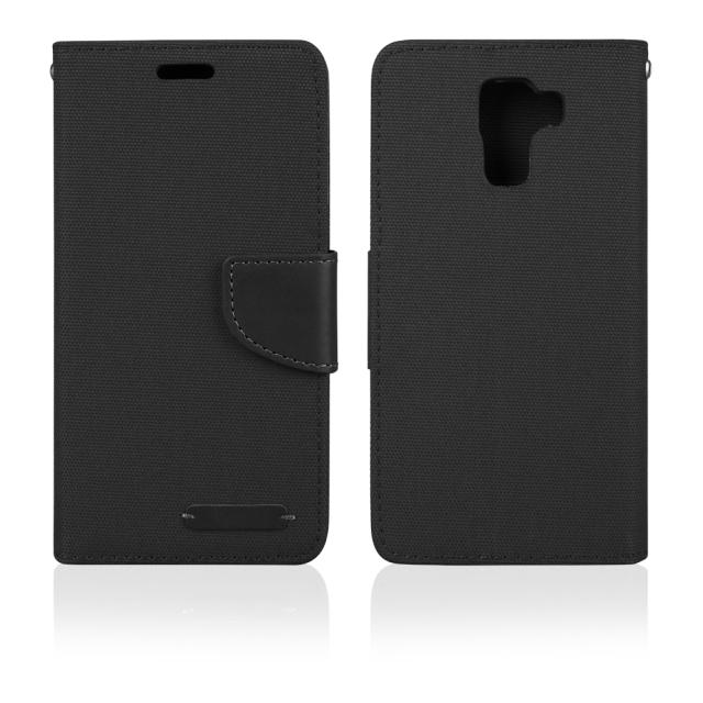 Aligator BOOK FANCY PRO flipové pouzdro Samsung Galaxy A3 2016 černé