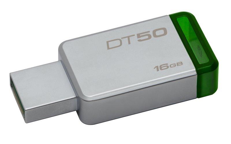 Flash disk Kingston DT50 16GB USB 3.0 Green