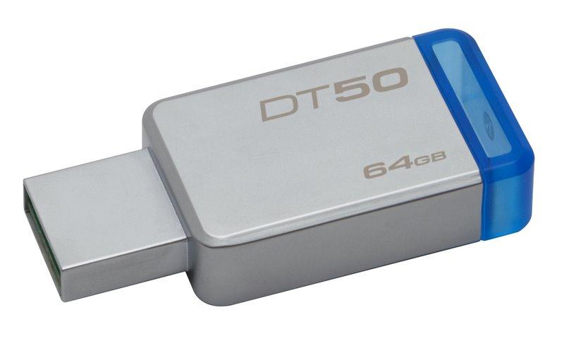 Flash disk Kingston DT50 64GB USB 3.0 Blue