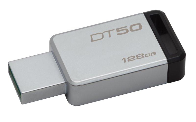 Flash disk Kingston DT50 128GB USB 3.0 Black