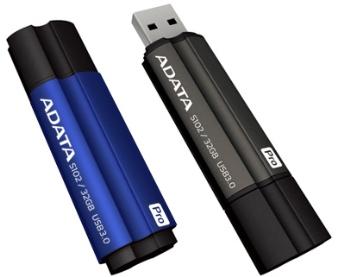 Flash disk ADATA S102 Pro 128GB, blue