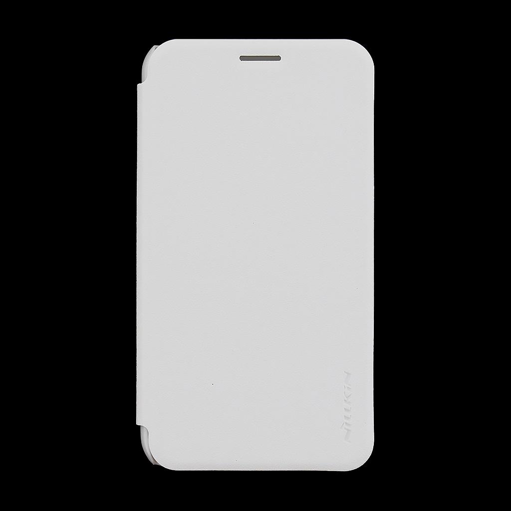 Nillkin Sparkle Folio Flip pouzdro Samsung Galaxy J1 2016 bílé
