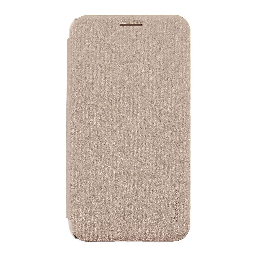 Nillkin Sparkle Folio Flip pouzdro Samsung Galaxy J1 2016 zlaté