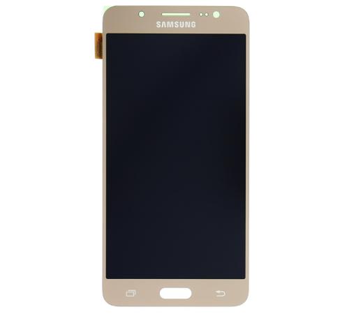 LCD displej + dotyková deska pro Samsung Galaxy J5 (2016) J510F, zlatá