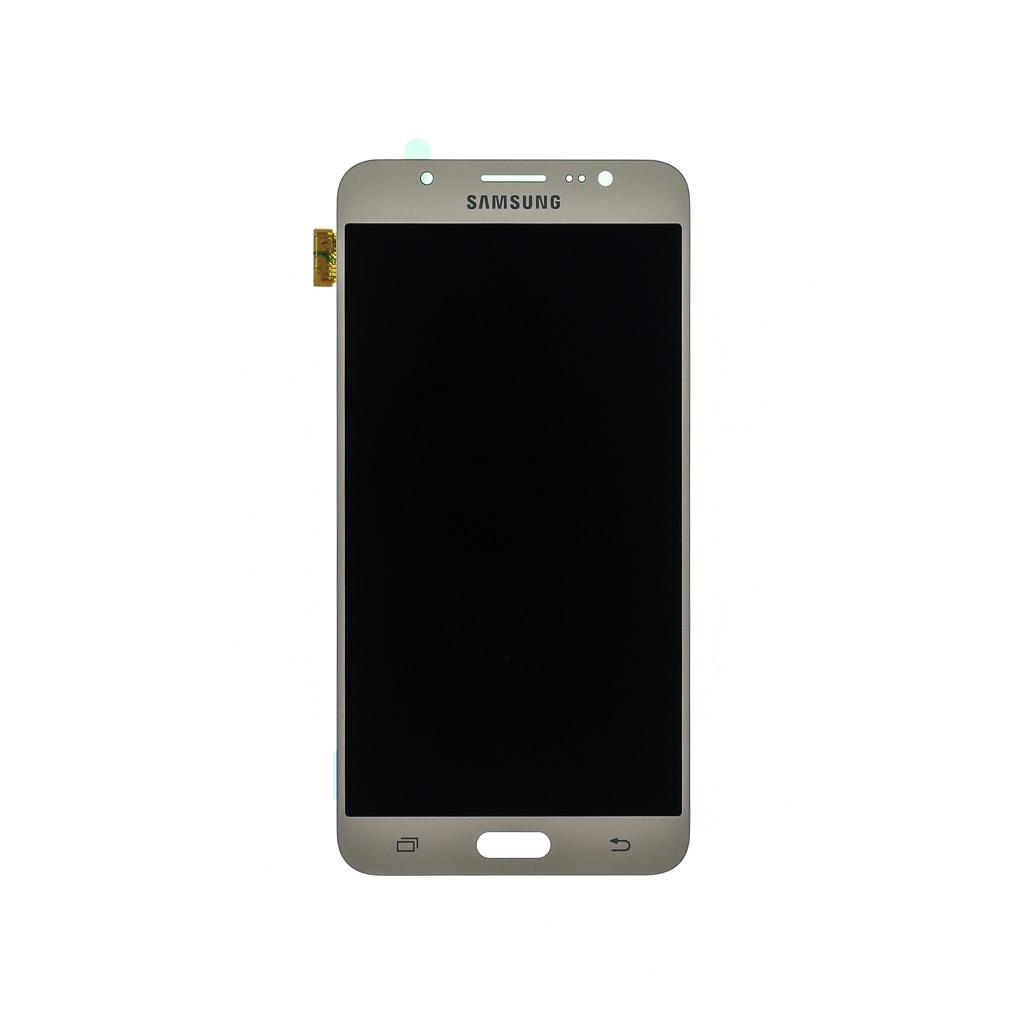 LCD displej + dotyková deska pro Samsung Galaxy J7 (2016) J710, zlatá