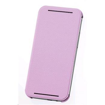 HTC HC V941 flipové pouzdro HTC One M8 růžové