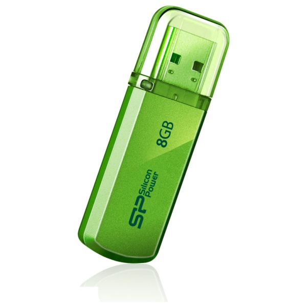 Flash disk Silicon Power Helios 101 8GB USB 2.0 Green