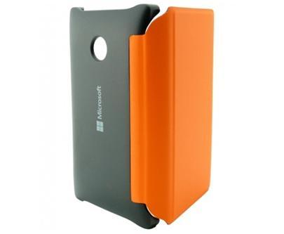 Microsoft CP-634 flipové pouzdro Microsoft Lumia 532 oranžové