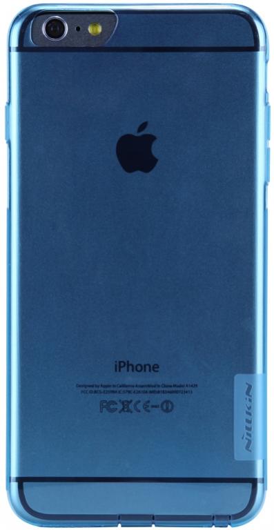 Nillkin Nature silikonové pouzdro pro Apple iPhone 7 modré
