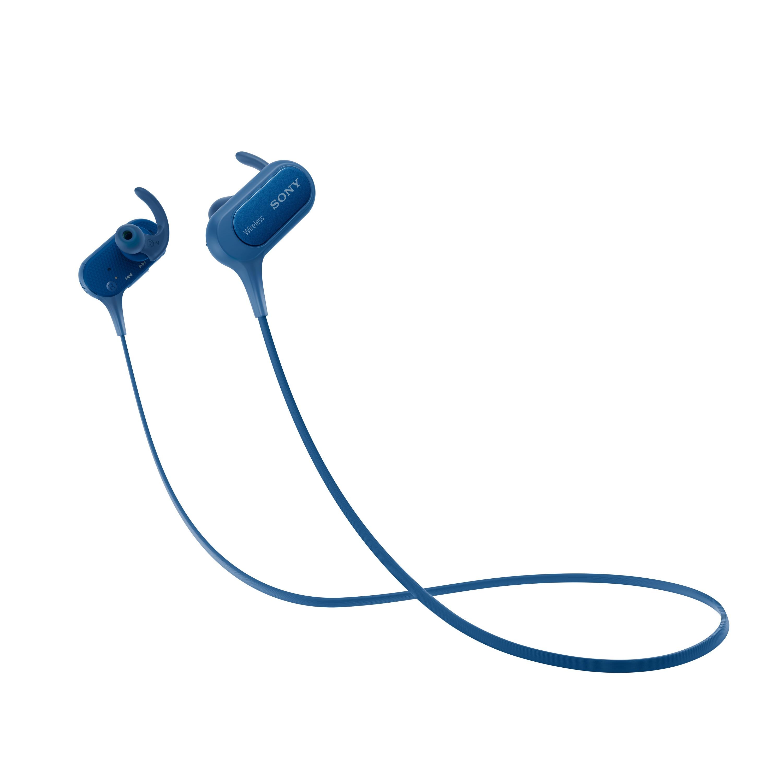 SONY Sluchátka ACTIVE MDR-XB50BS Handsfree modrá