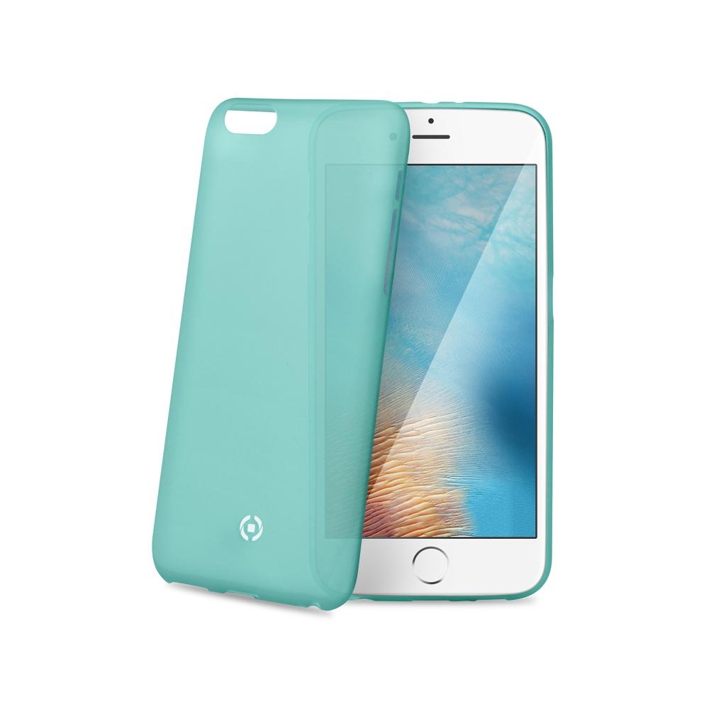 Silikonové pouzdro CELLY Frost pro Apple iPhone 7, tyrkysové