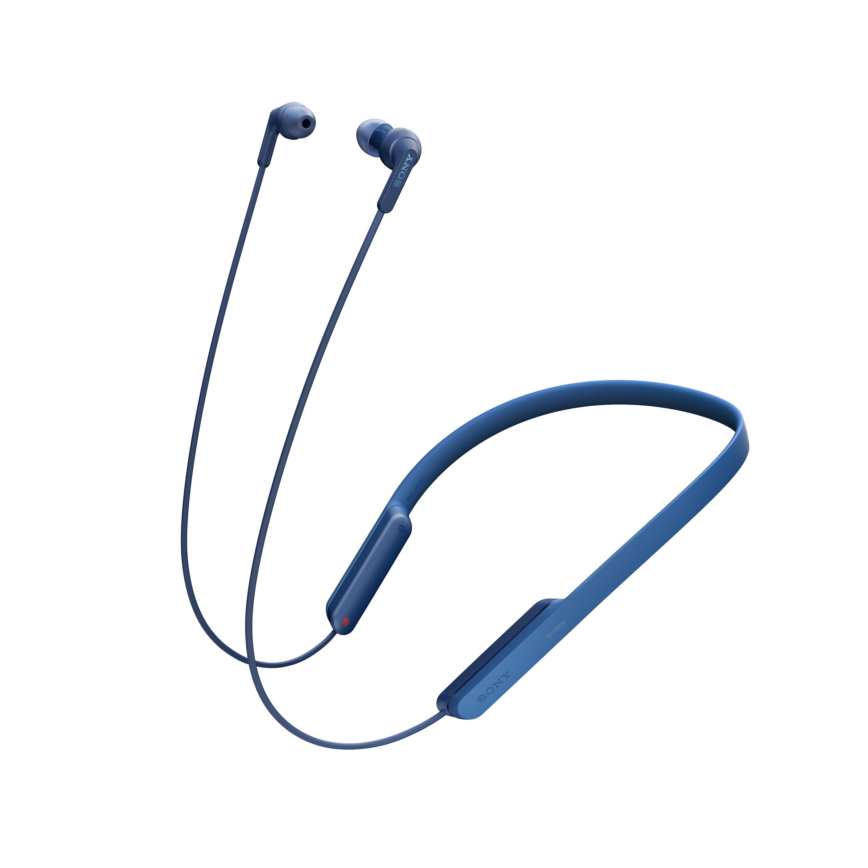SONY Sluchátka ACTIVE MDR-XB70BT Handsfree modrá