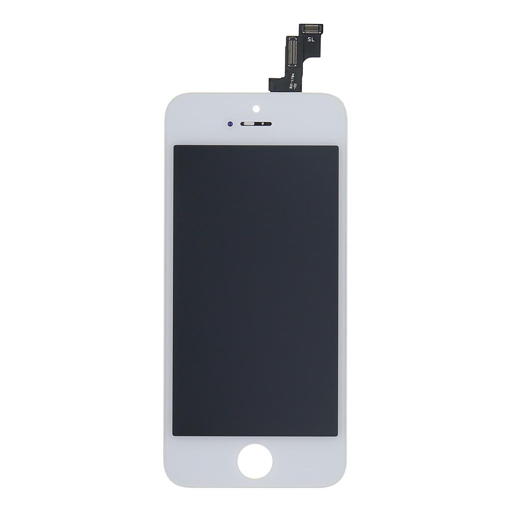 LCD displej + dotyková deska pro Apple iPhone SE, bílá OEM
