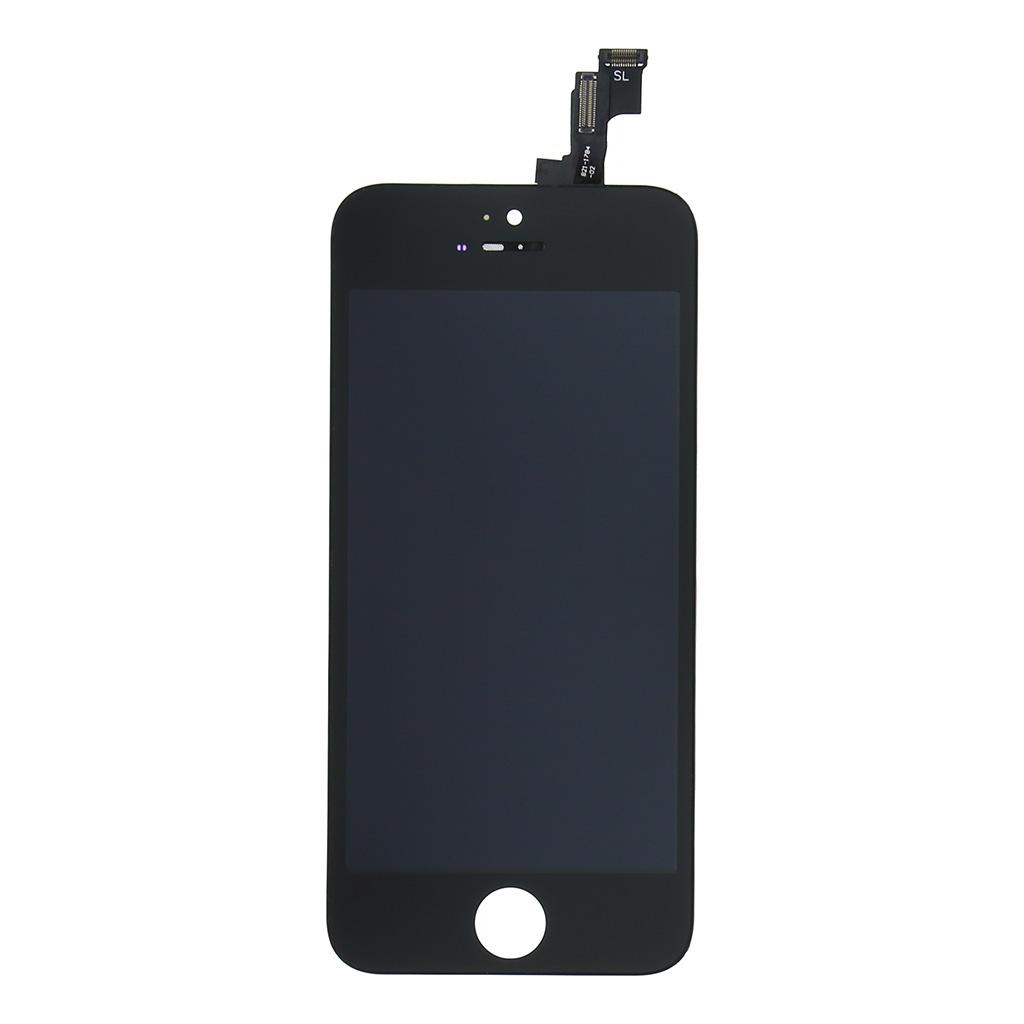 LCD displej + dotyková deska pro Apple iPhone SE, černá OEM