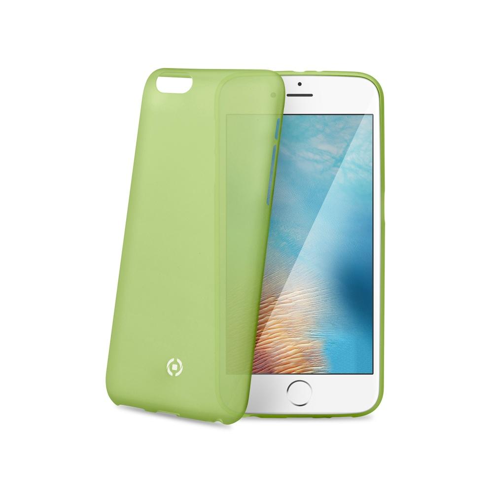 Silikonové pouzdro CELLY Frost pro Apple iPhone 7, zelené