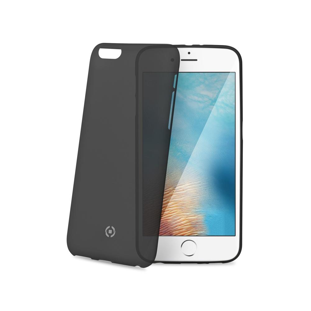 Silikonové pouzdro CELLY Frost pro Apple iPhone 7, černé