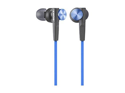 SONY sluchátka MDR-XB50 modrá