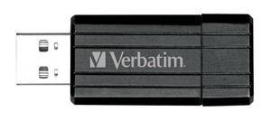 Flash disk Verbatim Store 'n' Go PinStripe 32GB USB 2.0 Black