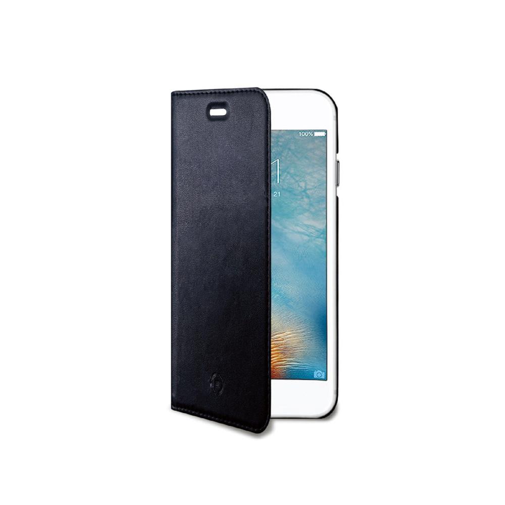 CELLY Air Ultra tenké flipové pouzdro Apple iPhone 7 černé