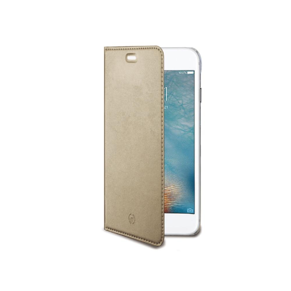 CELLY Air Ultra tenké flipové pouzdro Apple iPhone 7 zlaté