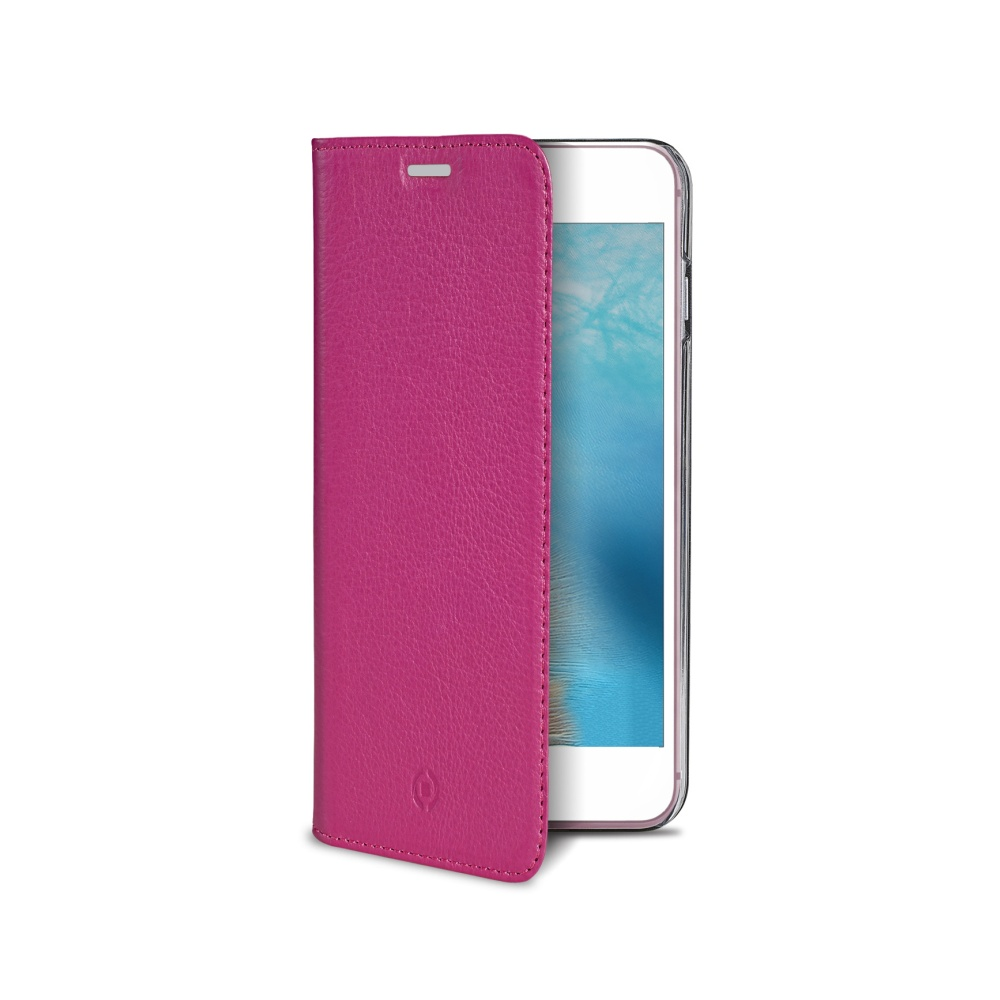 CELLY Air Pelle flipové pouzdro na Apple iPhone 7 růžové