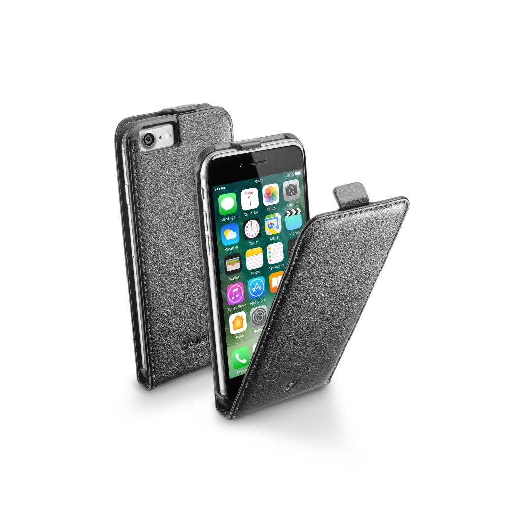 CellularLine Essential Flap pouzdro flipové Apple iPhone 7 černé