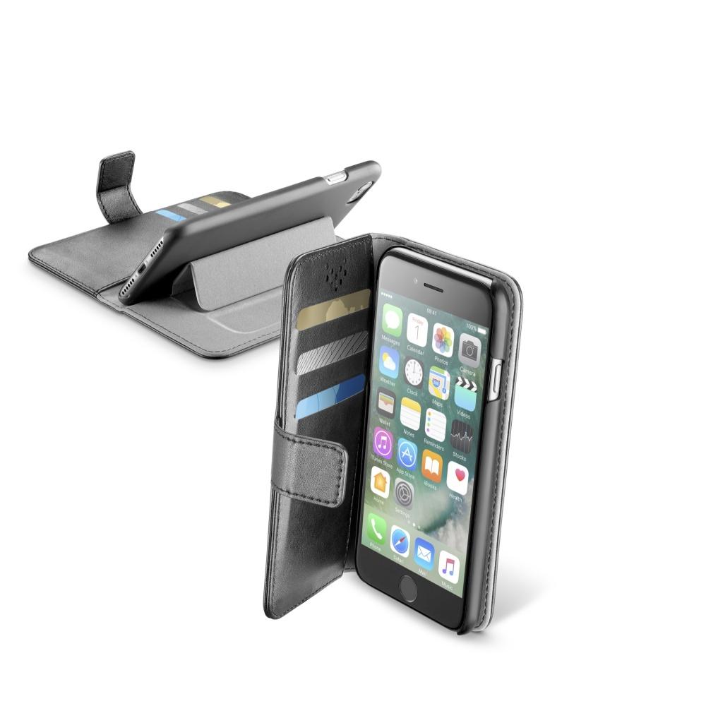 CellularLine Book Agenda flipové pouzdro Apple iPhone 7 černé