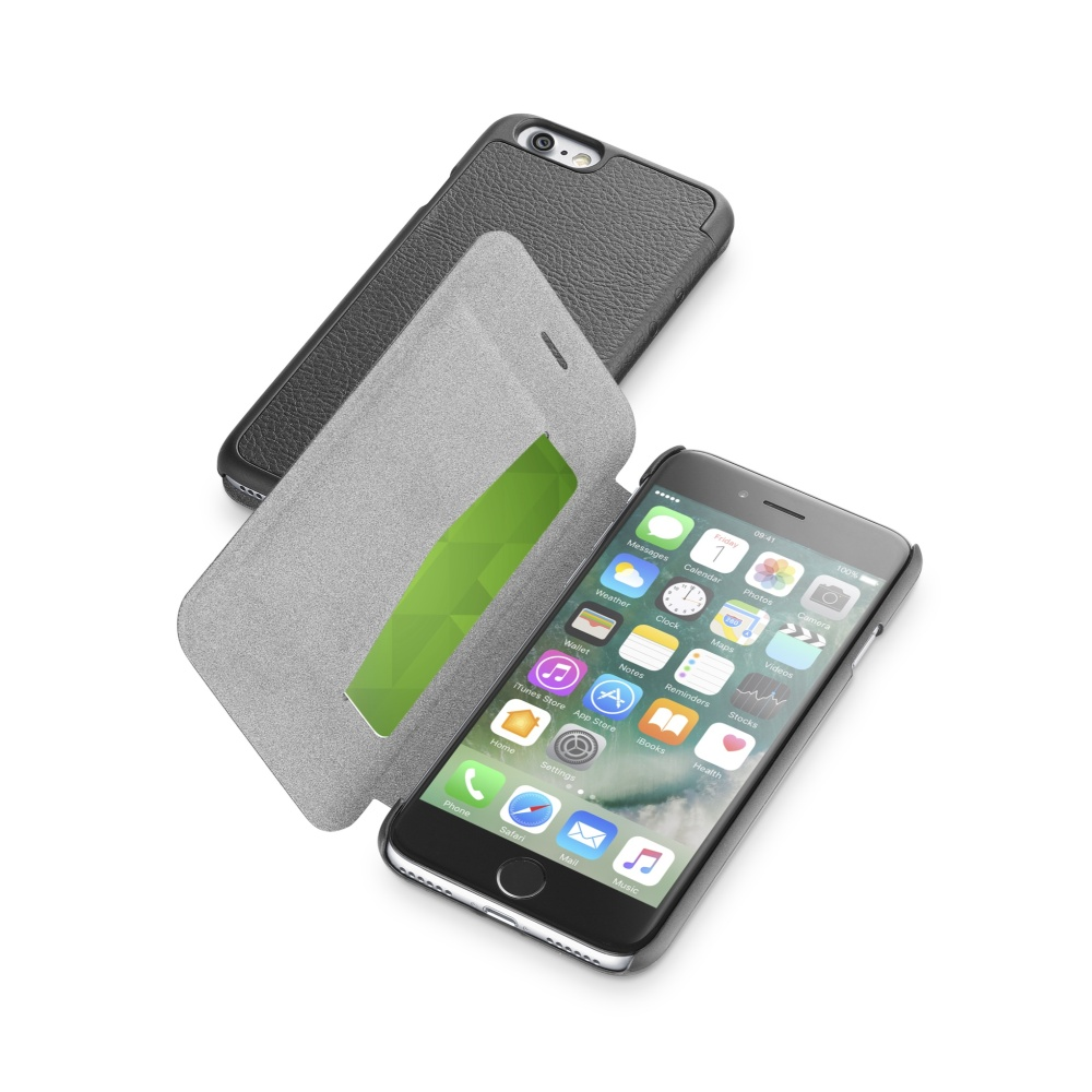 Pouzdro CellularLine Book Essential pro Apple iPhone 7, black