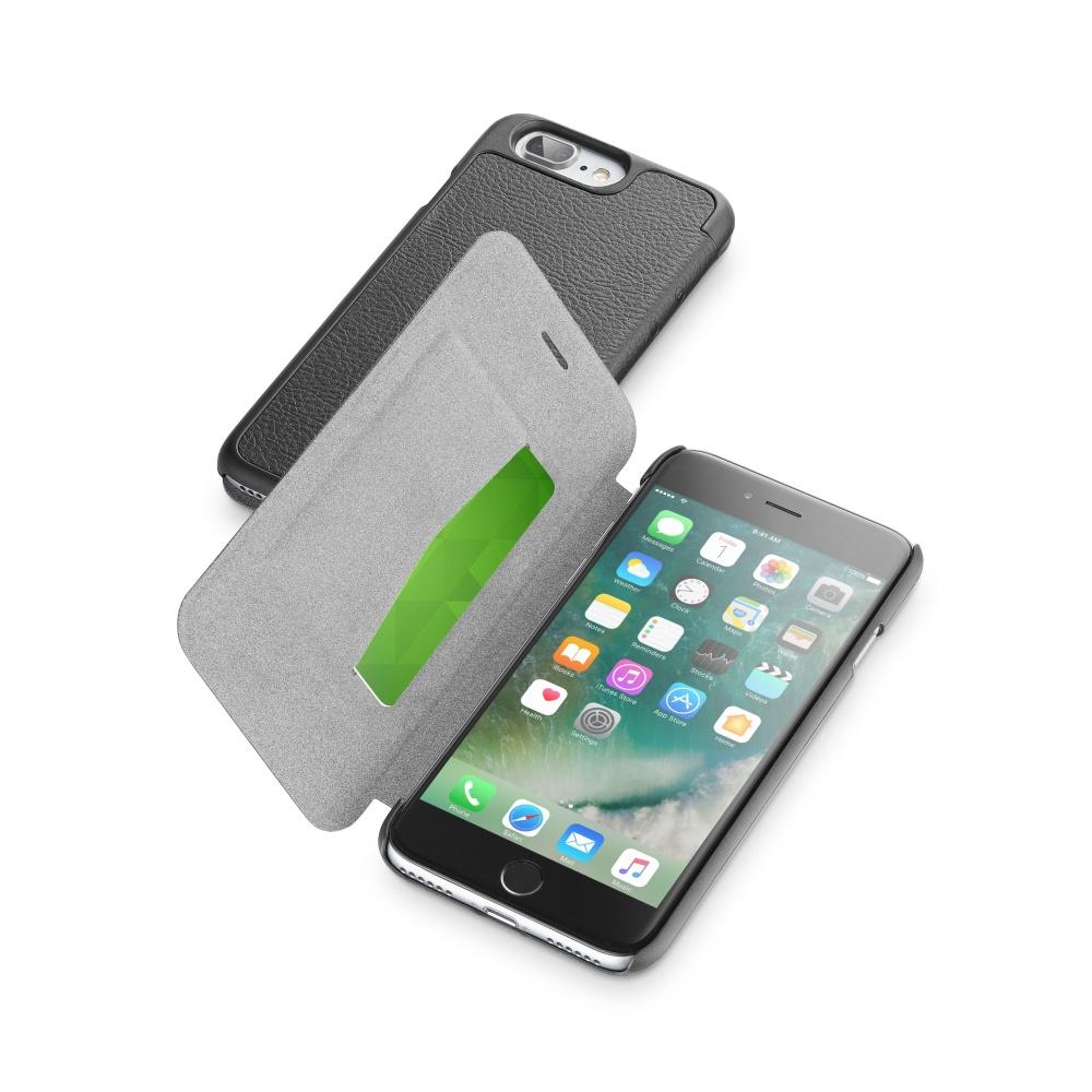 CellularLine Book Essential pouzdro flip Apple iPhone 7 Plus černé