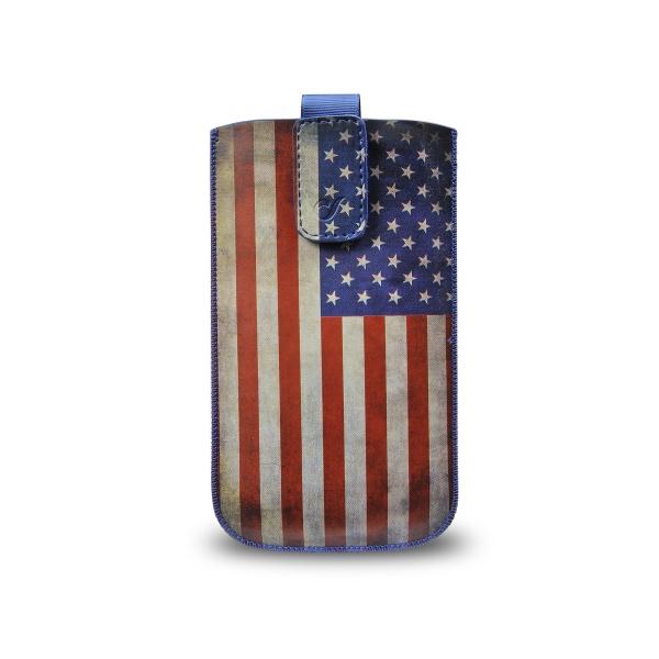 CellularLine TATTO pouzdro velikost XL motiv vlajka USA