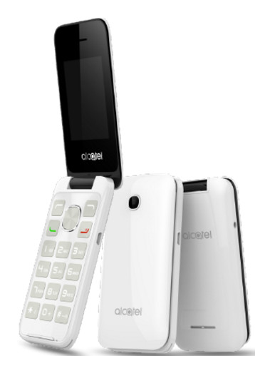 Alcatel 2051D Pure White
