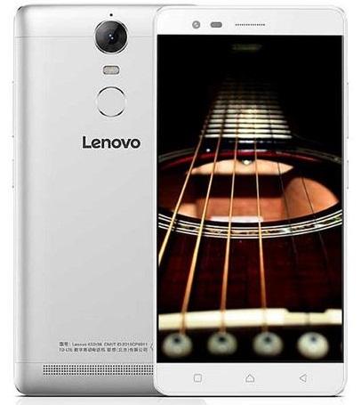 Lenovo Vibe K5 Note DS čtečka otisků prstů Silver