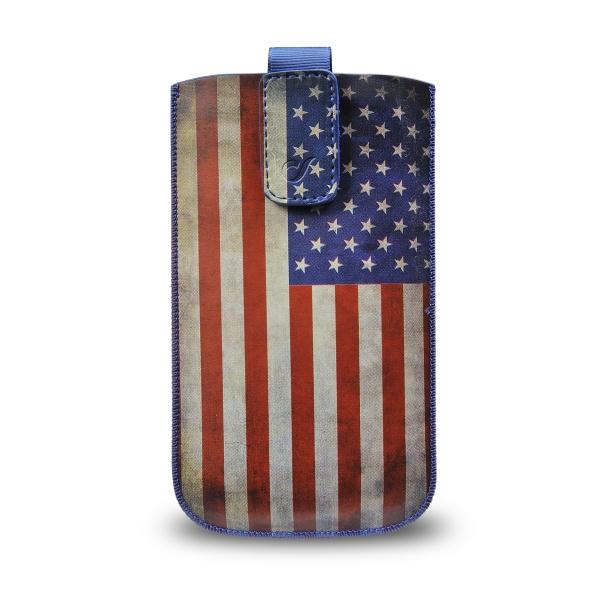 CellularLine TATTO pouzdro velikost XXL motiv vlajka USA