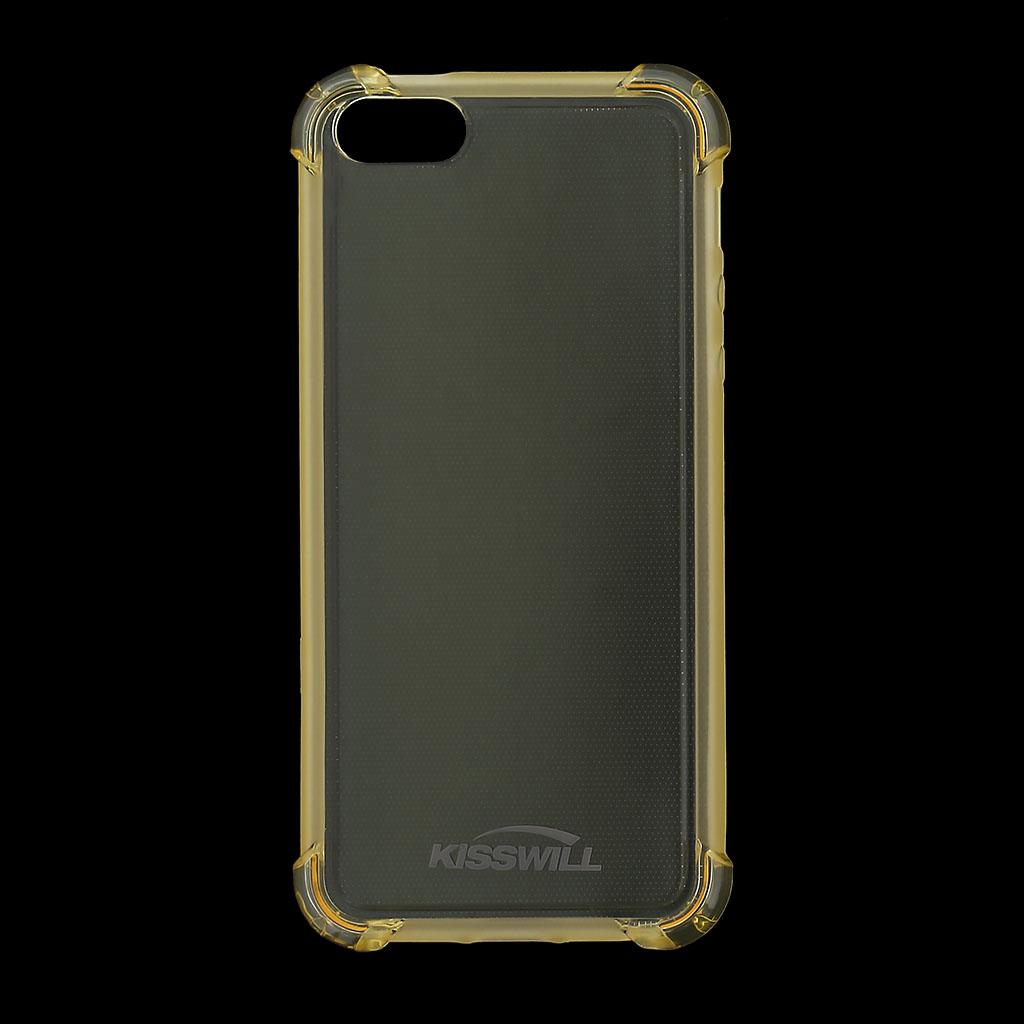 Kisswill Shock silikonové pouzdro pro Apple iPhone 5 5S SE zlaté 46c3ae0534d